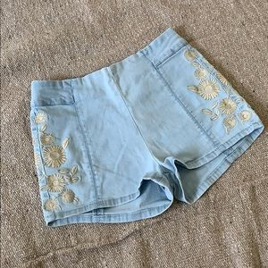 Size 1  BULLHEAD Denim shorts
